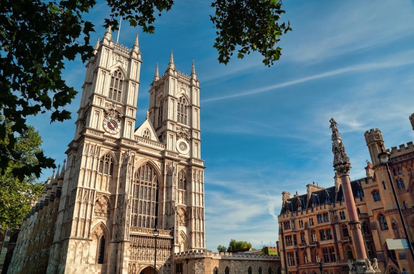 Abadía de Westminster en Metro Londres