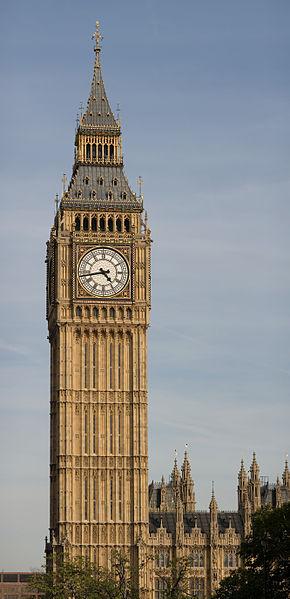 Big Ben por Metro Londres
