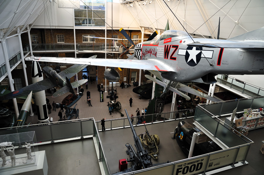 El Imperial War Museum en Metro Londres