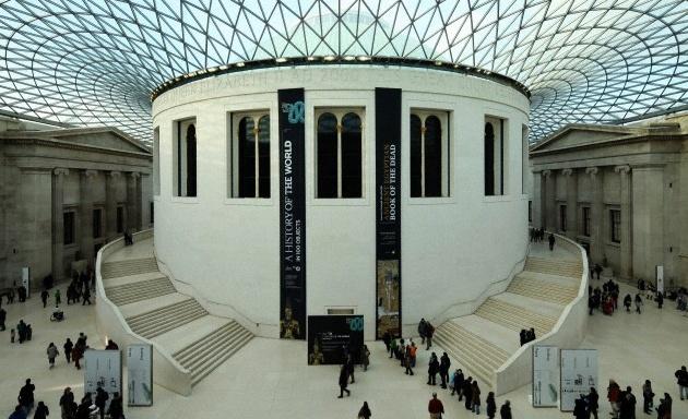 El Museo Británico por Metro Londres