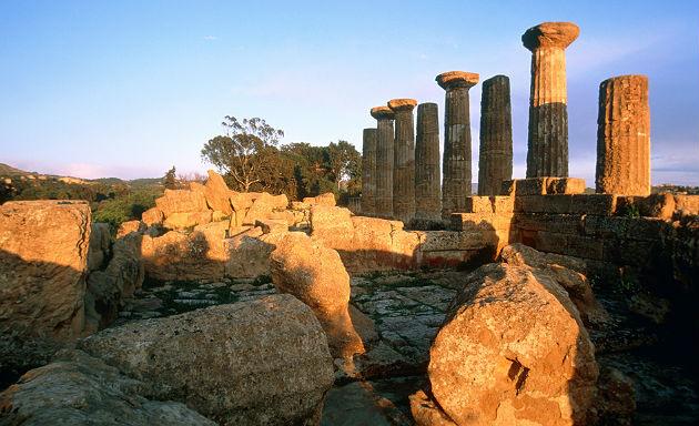 El historico valle de los Templos