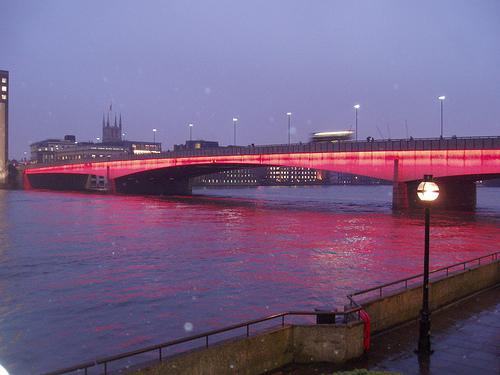 El puente de Londres en Metro Londres