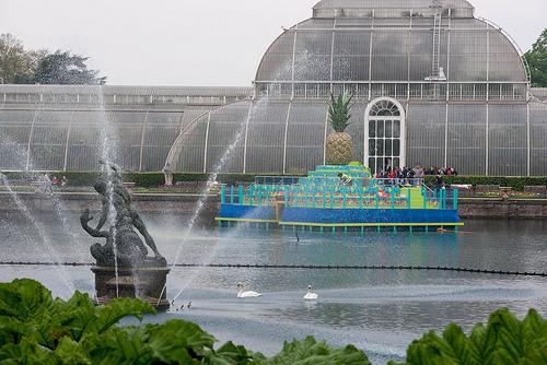 Real Jardín Botánico de Kew en Metro Londres