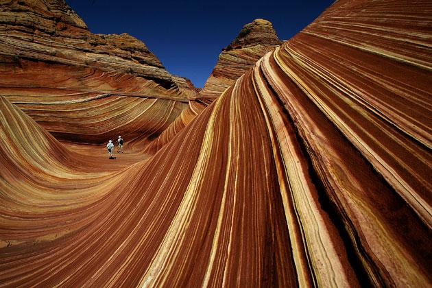 Ola de Piedra de Arizona