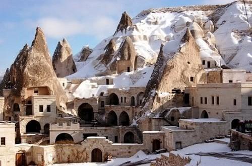 Hotel Cueva Gamirasu Turquía: alojamiento original