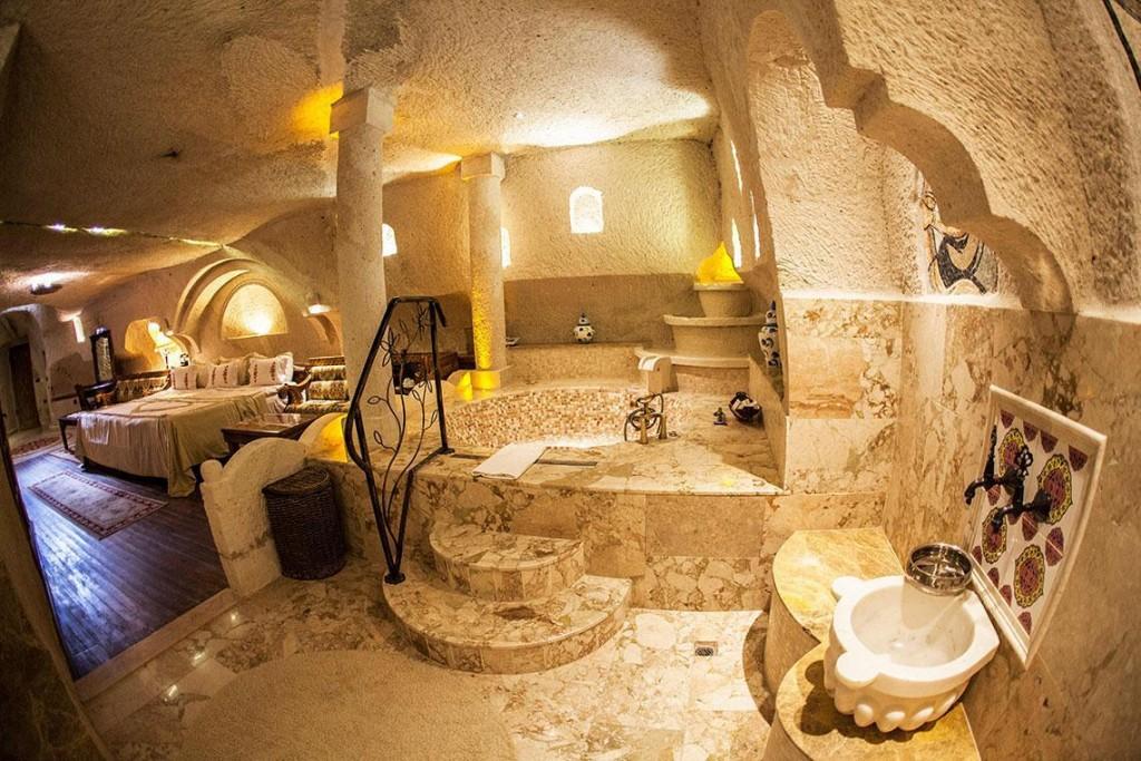 habitación hotel cueva gamirasu