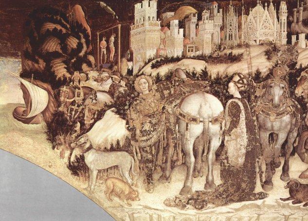 Frescos en Sant' Anastasia en Verona
