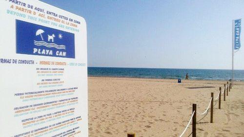 playas para perros en Gandía