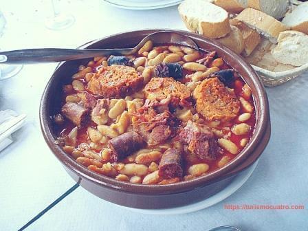 comida típica asturiana