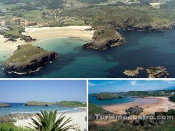 playas de asturias para ir con niños