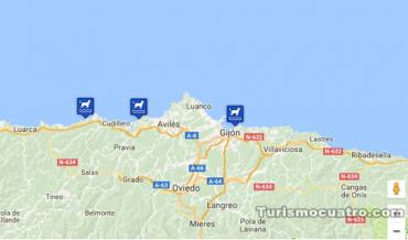 playas de Asturias para perros