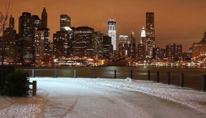 donde viajar en diciembre nueva york