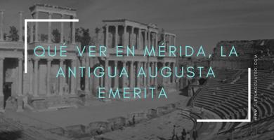 qué ver en Mérida