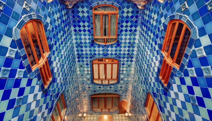 patio interior casa batlló
