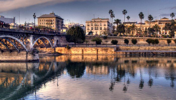 barrio Triana en Sevilla