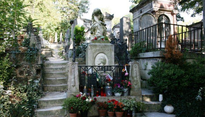 cementerios turismo en París