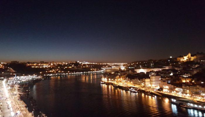 vistas de Oporto desde el puente Luis I