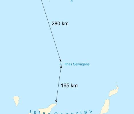 islas salvajes de Portugal