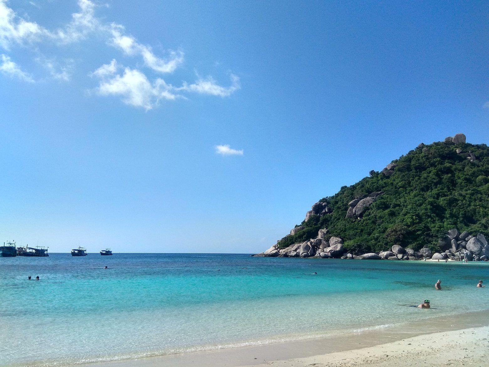 isla Koh Tao en Tailandia