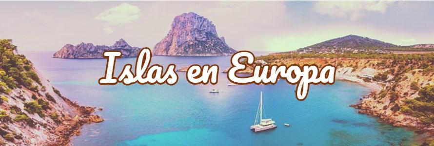 islas en Europa