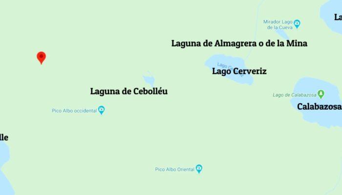 lagos de saliencia mapa