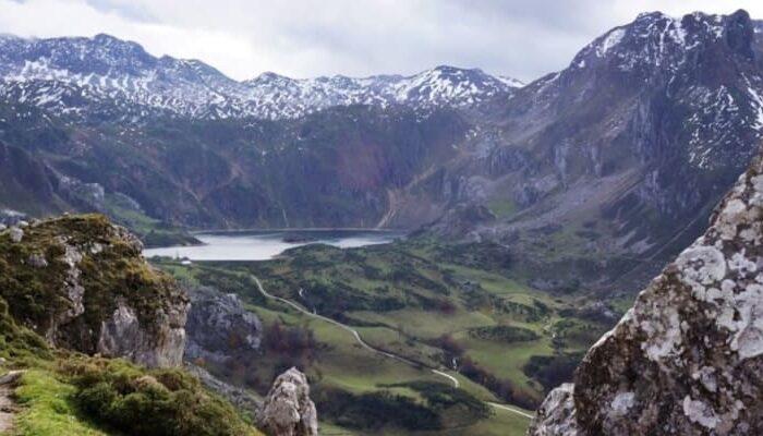 ruta por los lagos de saliencia