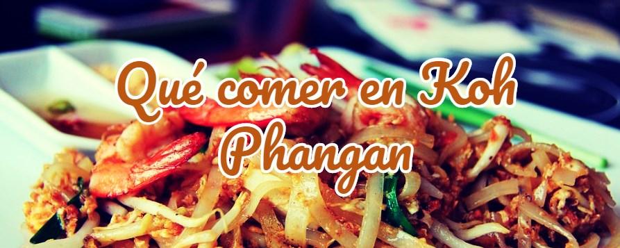 qué comer en koh phangan