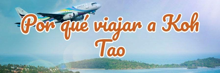 por qué viajar a Koh Tao