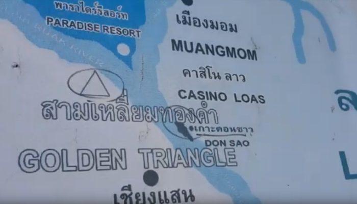 dónde está el triángulo de oro de Tailandia