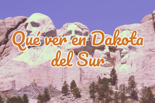 qué ver en Dakota del Sur