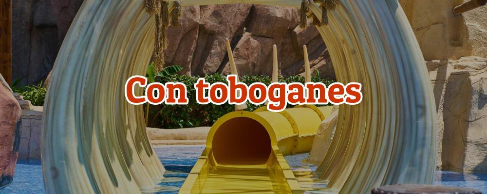 hoteles con toboganes para ir con niños