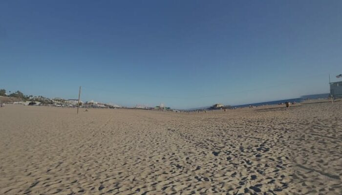 playa Santa Mónica en Los Ángeles