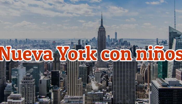viajar a nueva york con niños