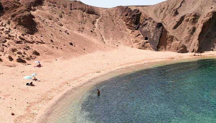 playas papagayo en Lanzarote
