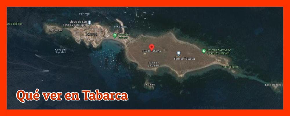 qué ver en Tabarca